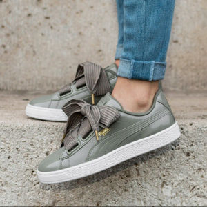 PUMA Lace Up Sneakers